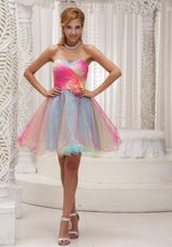 Mulit-color Prom Party Dress 2013 Sweetheart