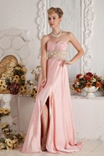 lovely chiffon party dress with a zipper back p3236