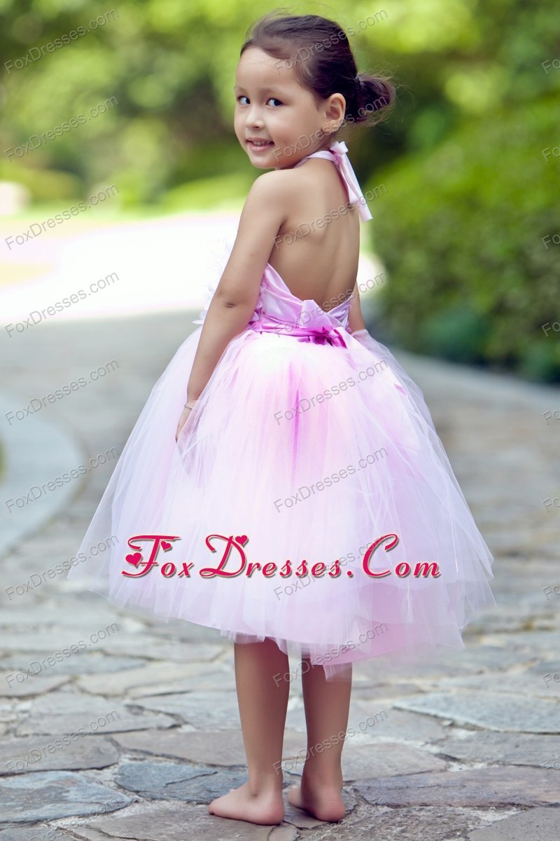 2013 flattering angles flower girl dress