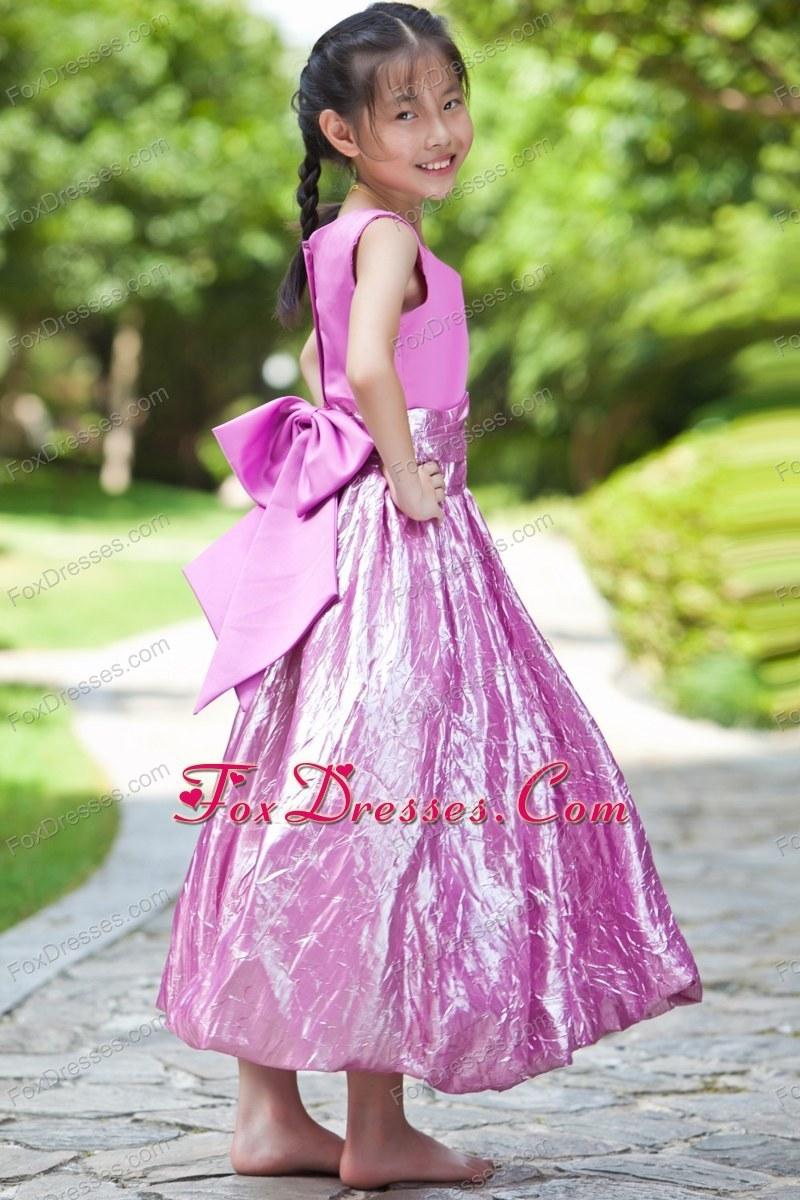 2013 simple little girls formal gowns