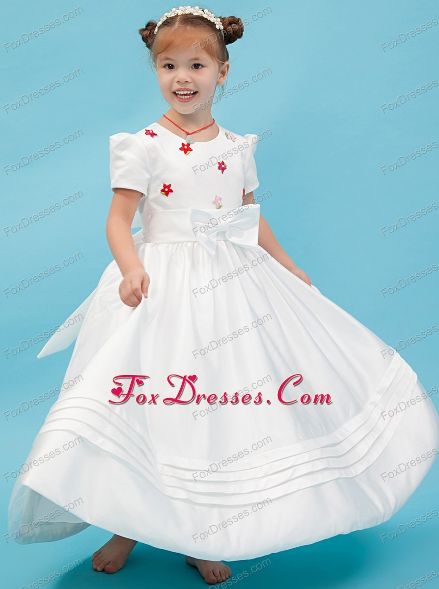 where you can order floor length flower girl dress