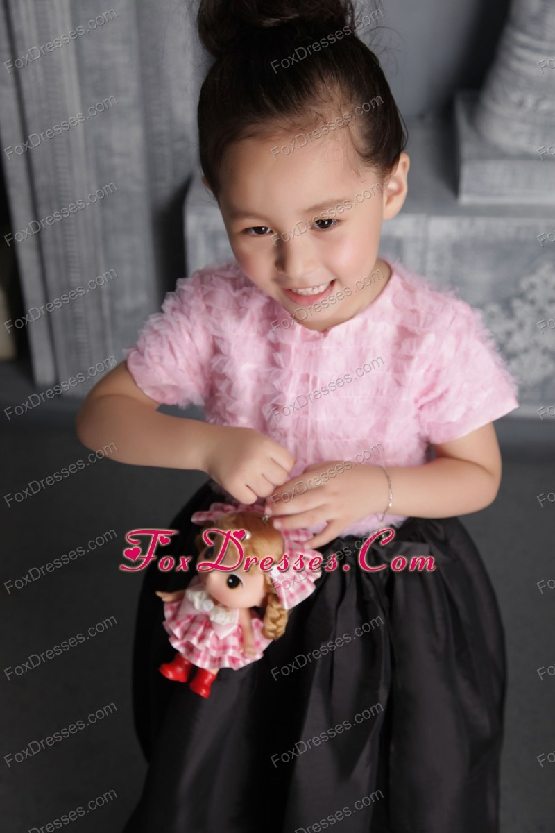 2013 toddler flower girl dress with scoop