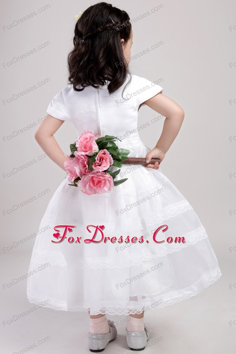 impressive a-line flower girl dress