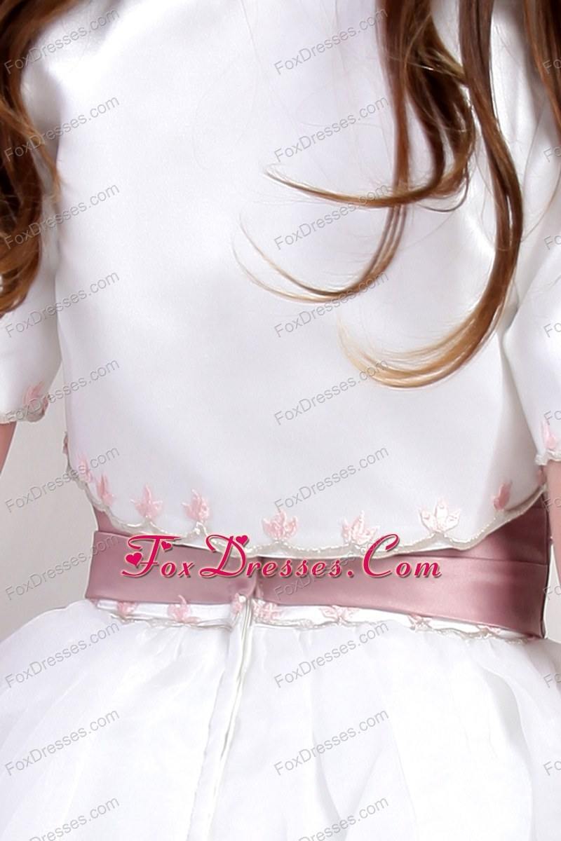 2013 toddler flower girl dress with straps