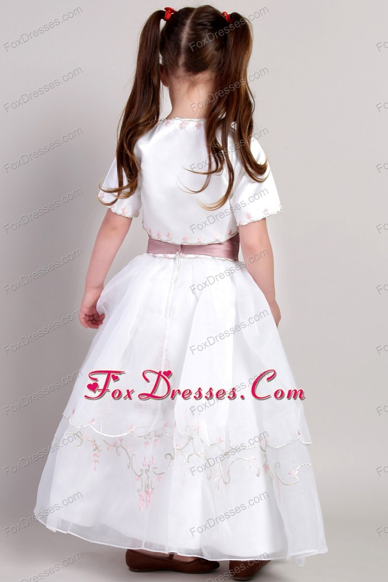 2012 2013 winter flower girl dress