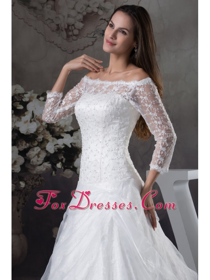 latest inexpensive organza bridal wedding dresses for wedding