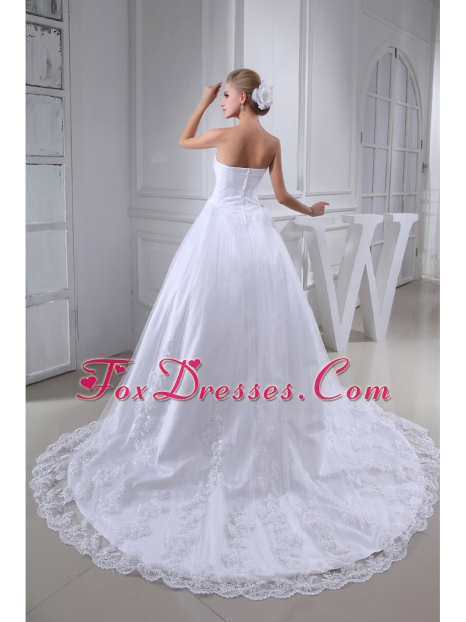 2013 2015 white sweetheart bridal gowns