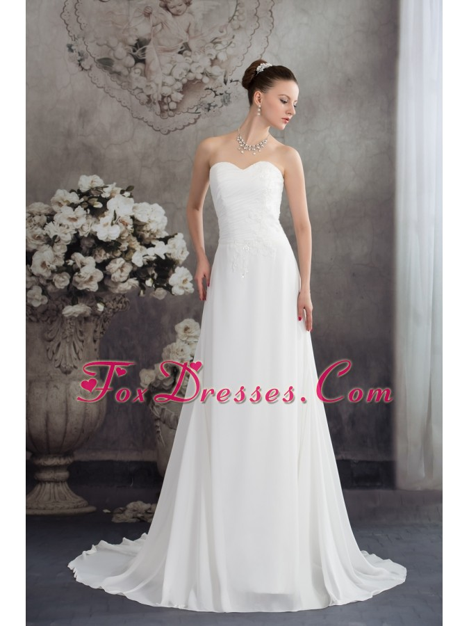 how to pick wedding dresses with court train for the bride