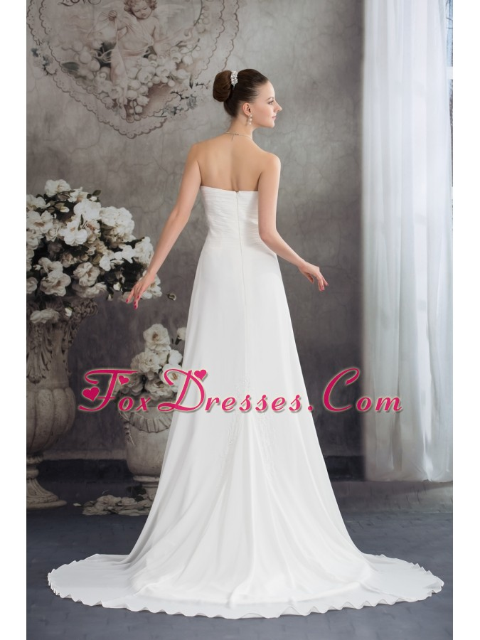 wonderful wedding bridal dresses with court train