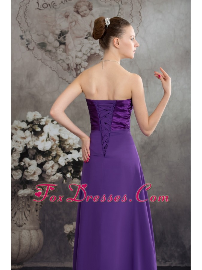 fall design prom graduation dress with sleeveless