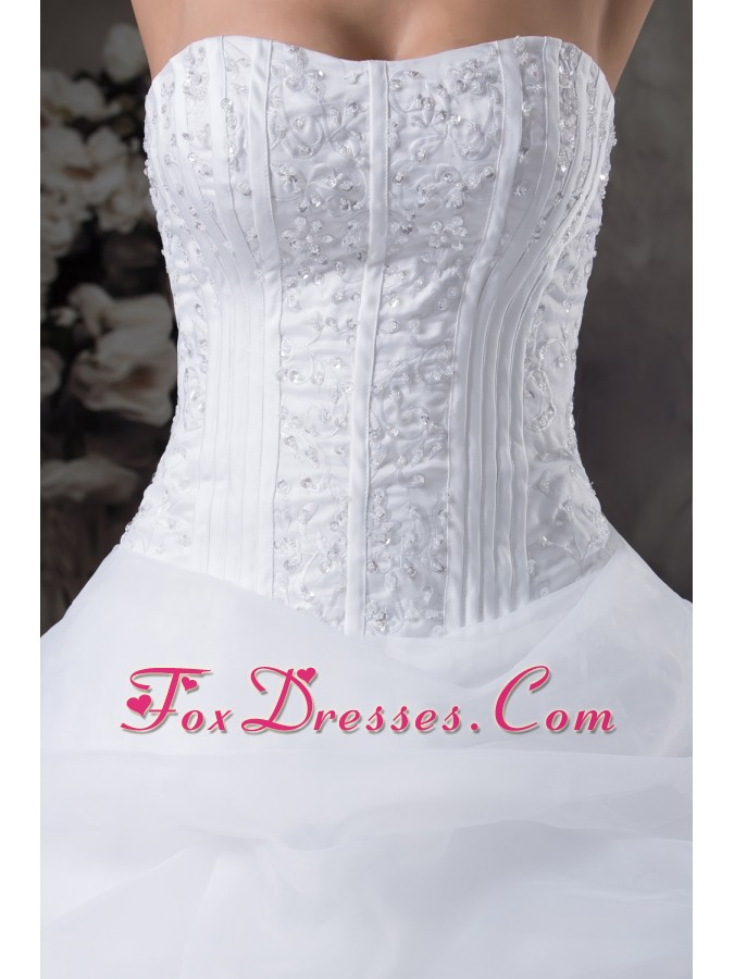 strapless wedding dresses for the bride for mass wedding