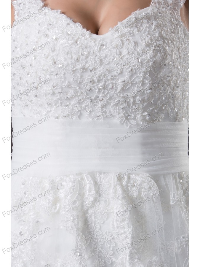 pictures of a-line bridal dresses