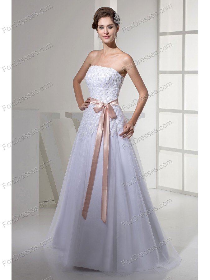 graceful wedding dress