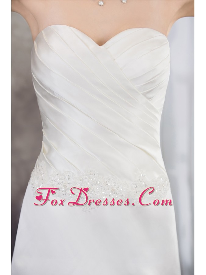 march bridal gown in spring