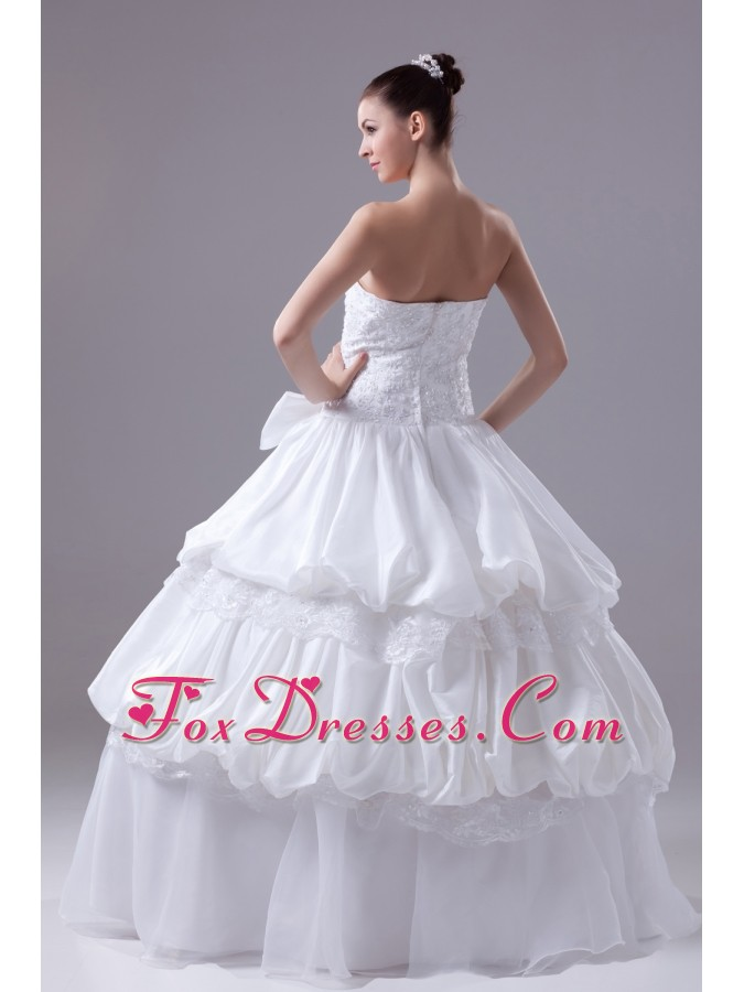 what kind of strapless bridal gowns
