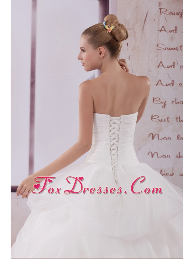 how to find cheap strapless wedding dresses
