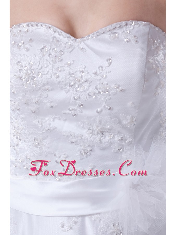 designer wedding dress in spring