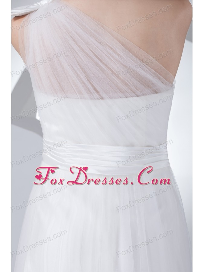 turn heads ruching wedding dress