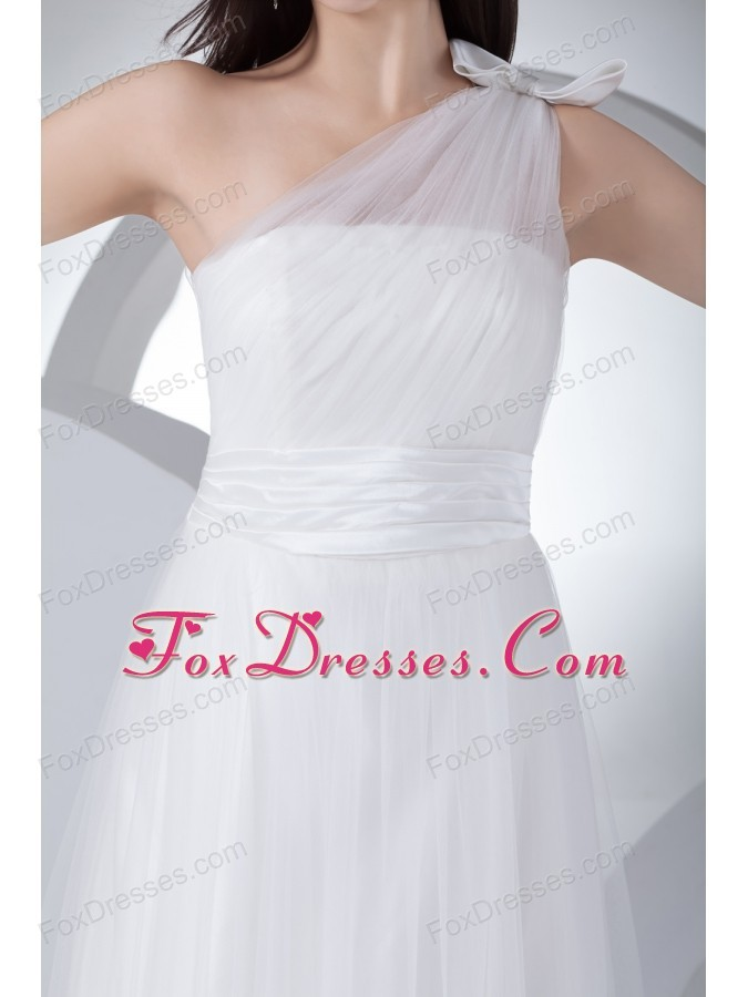 2013 2015 white one shoulder bridal gowns