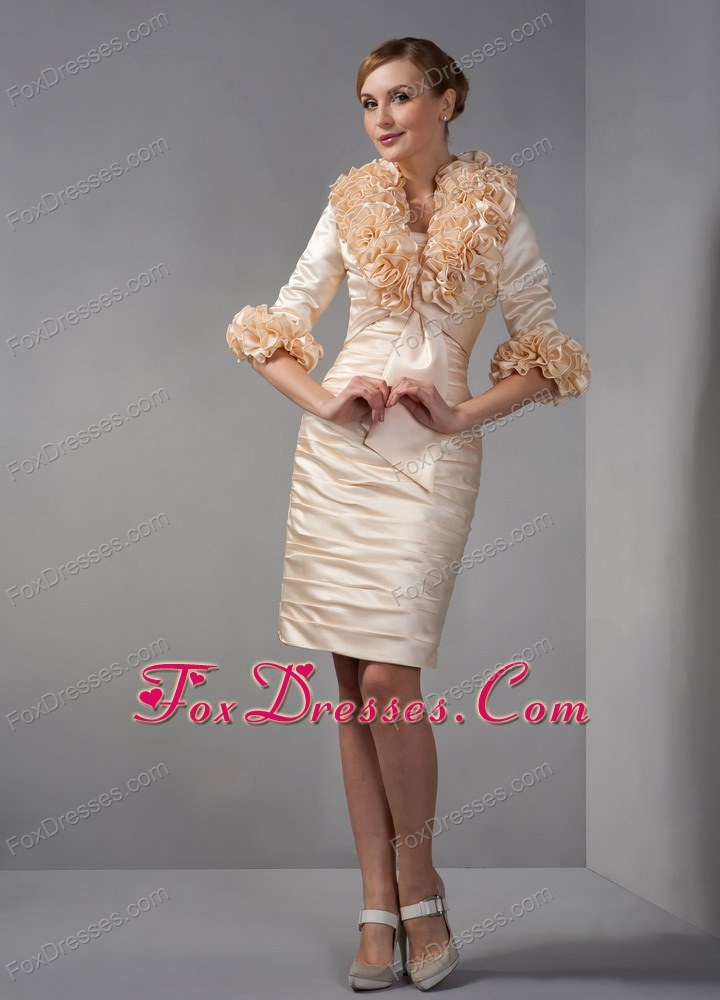 Mother In Law Dresses For Fall Weddings Ruche Wedding Mother Dress