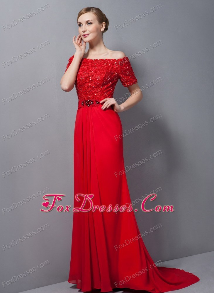 The Bride Dress Mother of Red