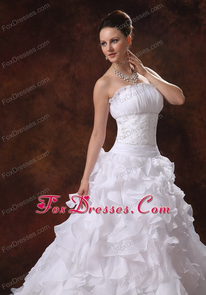 all souls day tiara bridal dress