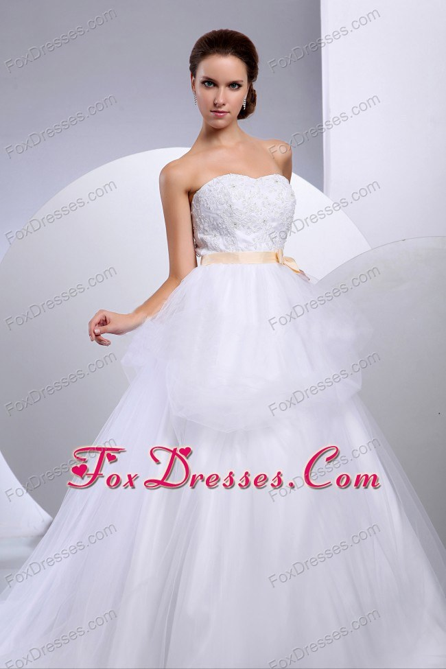 summer independence day bridal gowns
