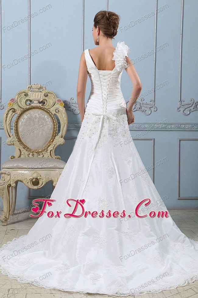 naked marriage spring bridal dress