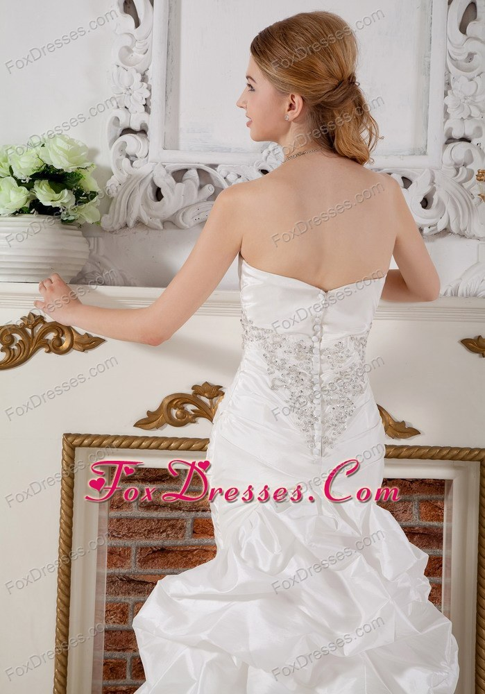 flower bridal gown veil in white