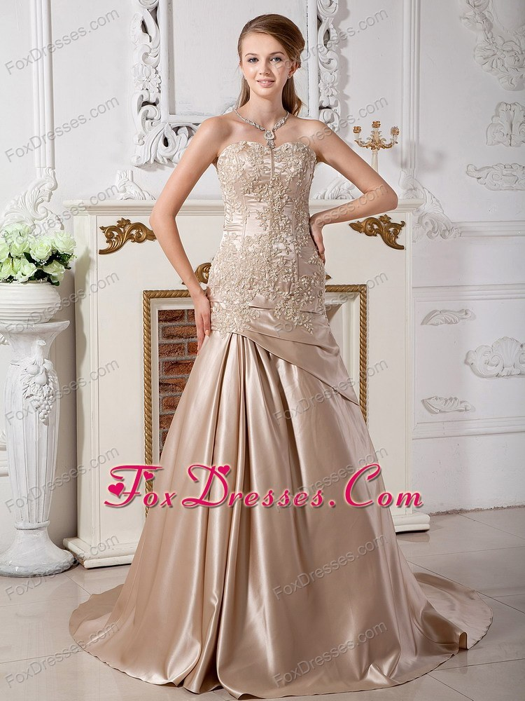 2013 The Most Popular Mermaid Wedding Dress Appliques