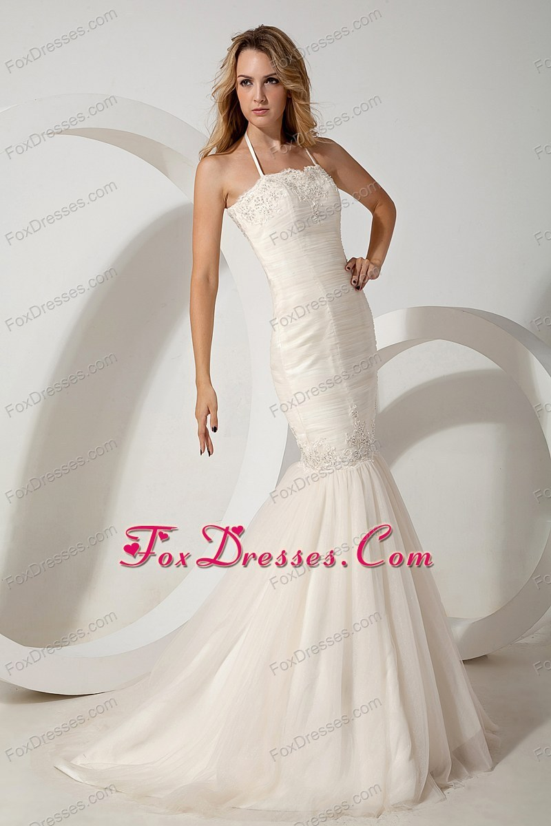 independence day wedding dress with lace up