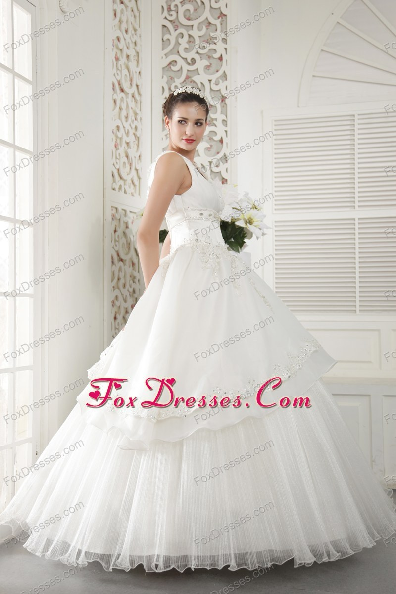 most popular fitted waist bridal gown