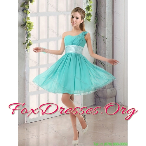 2015 Elegant Sweetheart Multi Color Quinceanera Gown and Ruching Short Prom Dresses and Multi Color Straps Little Girl Dress
