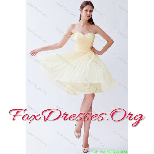 Beading Floor Length Quinceanera Dress and Champagne Short Prom Dresses and Ruffles Halter Top Pageant Dresses for Little Girl