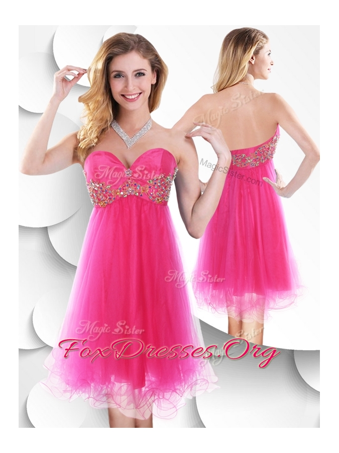 Attractive Pretty In Pink Prom Dress Image - Wedding Dress Ideas ...
