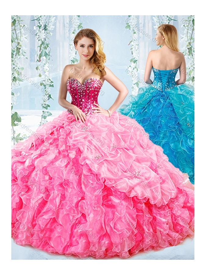 Big Ruffle Prom Dresses