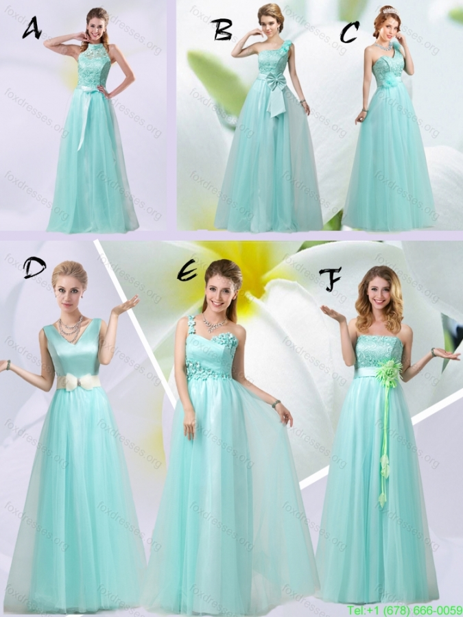 Perfect 2015 Summer Empire Strapless Bridesmaid Dresses with Hand Made Flowers
