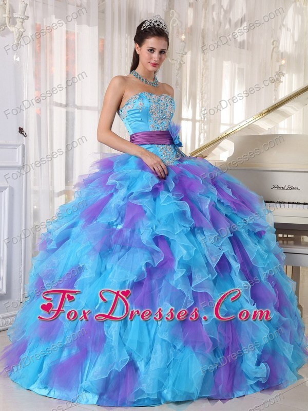 2013 impressive quincianera dresses in party