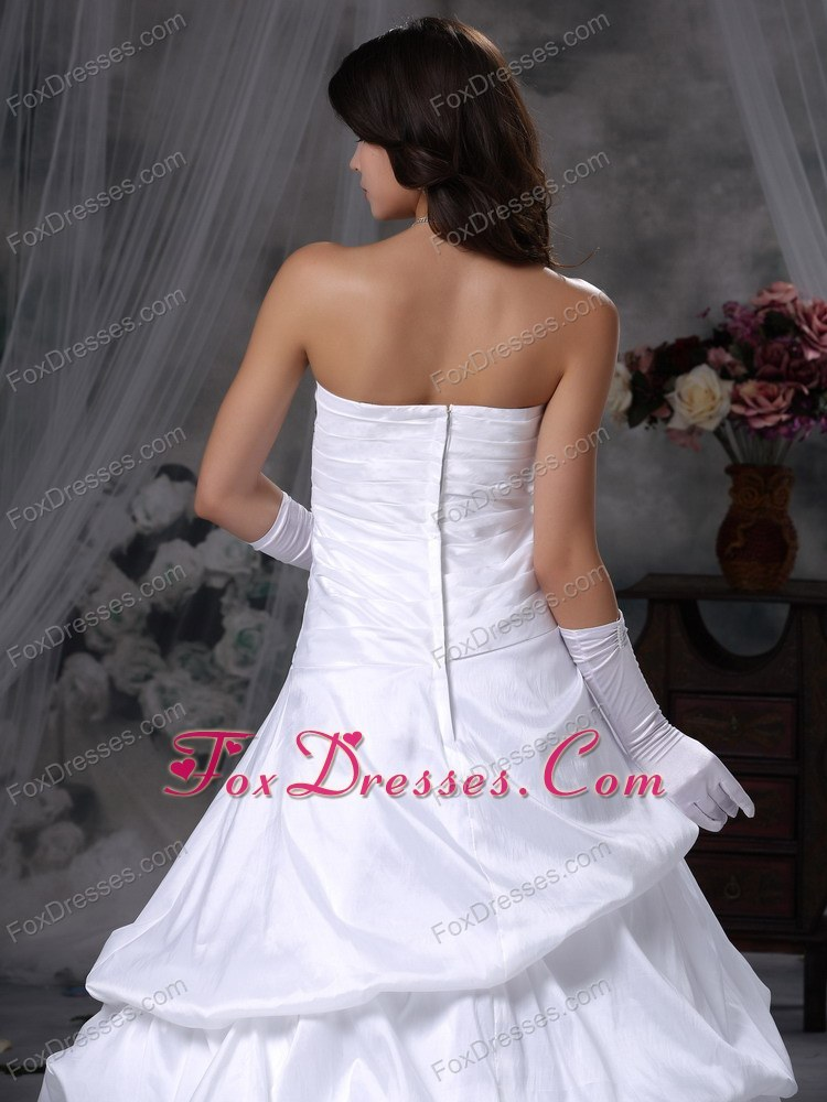 2013 strapless fitted bridal dress