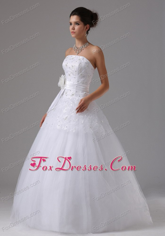 for cheap strapless bridal gowns