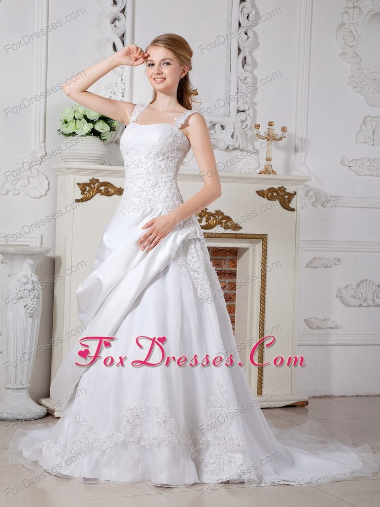 new style white ruched bridal dresses