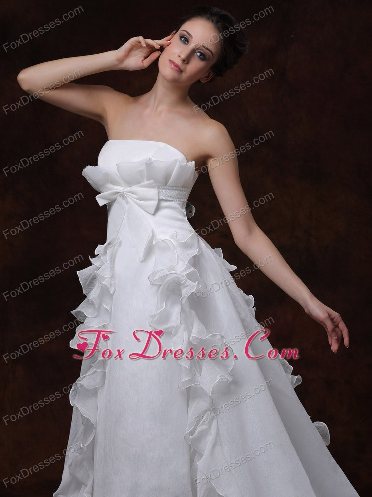 2014 new style wedding dress in white