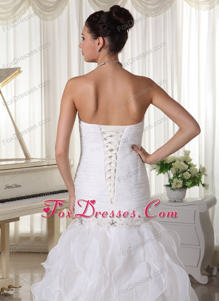 2013 spring glitz affordable with lace up back dresses for wedding party