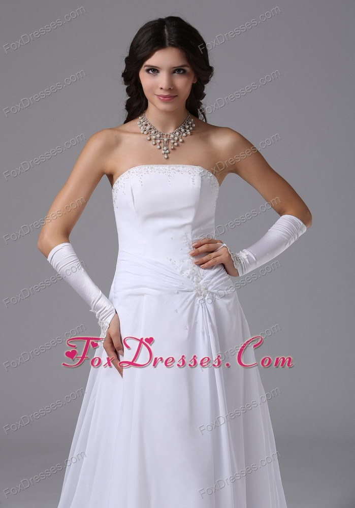 2014 mothers day wedding reception dress in white