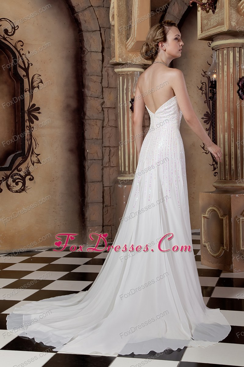 how can i shop chiffon wedding dress