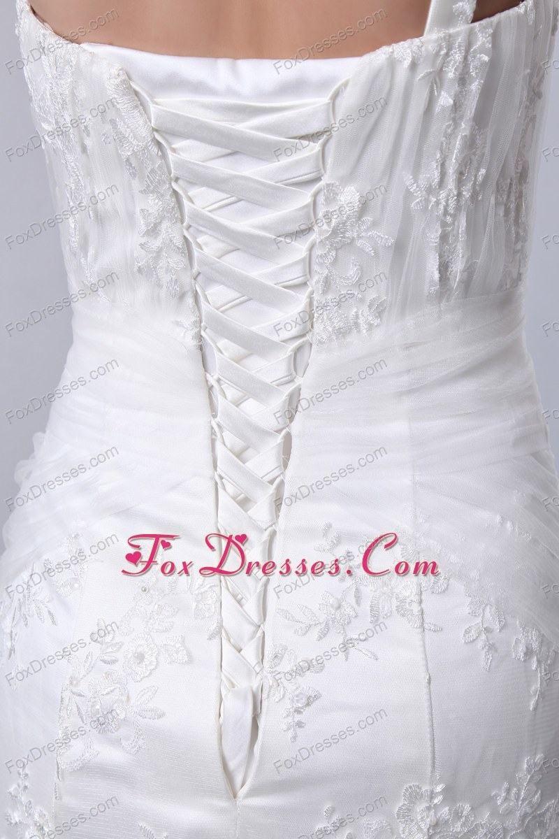 puffy wedding gowns with appliques