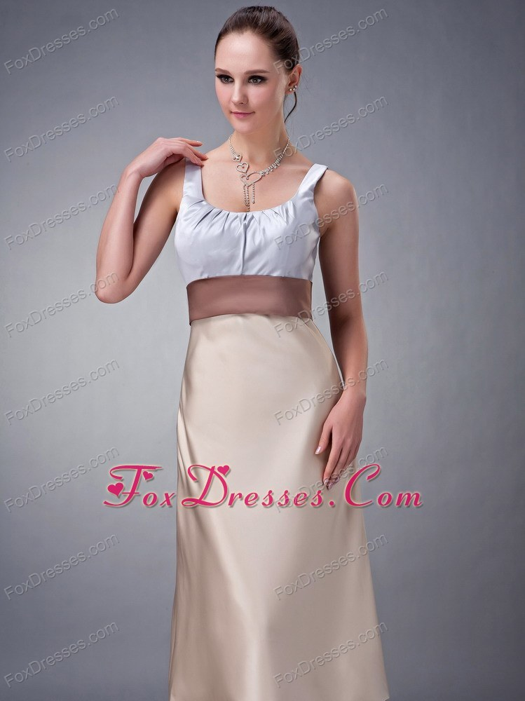 sites trendy low price sleeveless bridesmaid gowns