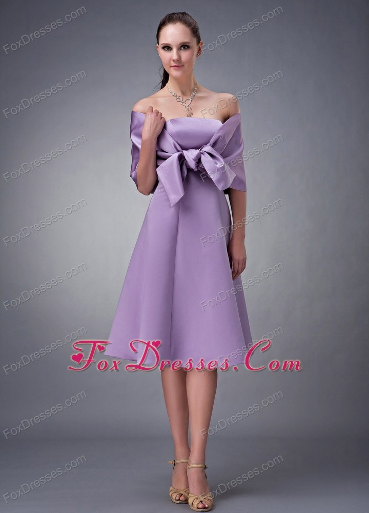 Line Strapless Bridesmaid Dresses