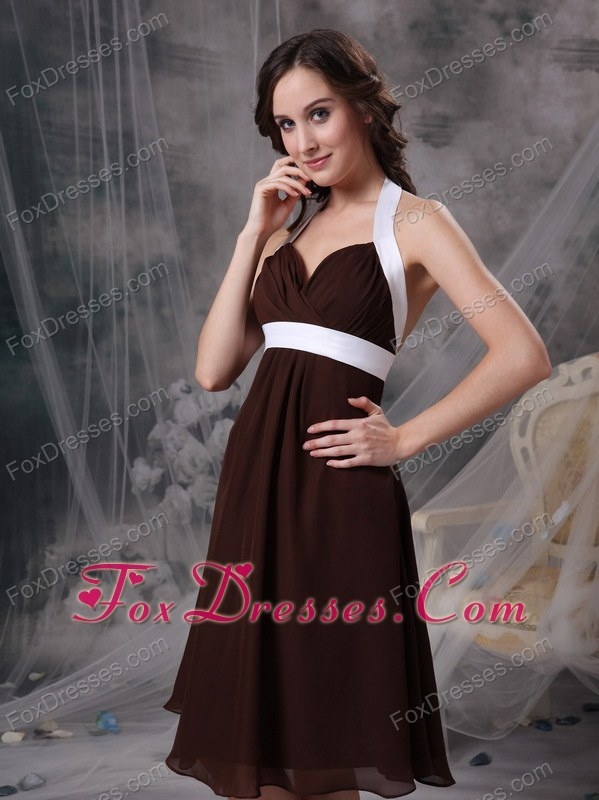 special on sale zipper back bridesmaid gown