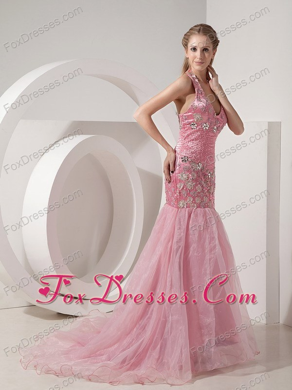 2013 spring sleeveless celebrity prom dress for exquisite
